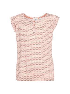 Блузка TOM TAILOR. Цвет: бежевый