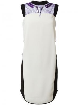 Платье с кружевными деталями Mame. Цвет: телесный