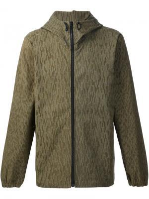 Куртка с капюшоном Christopher Raeburn. Цвет: зелёный