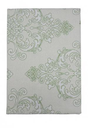 Комплект постельного белья Евро Mona Liza. Цвет: зеленый