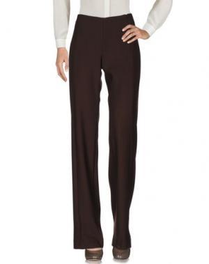 Повседневные брюки TALBOT RUNHOF. Цвет: темно-коричневый