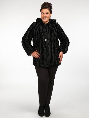 Пальто Silver-String. Цвет: черный