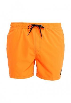 Шорты для плавания Quiksilver. Цвет: оранжевый
