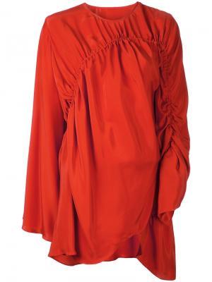 Платье Chrysalis Bianca Spender. Цвет: жёлтый и оранжевый