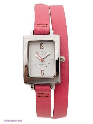 Часы TOKYObay. Цвет: розовый