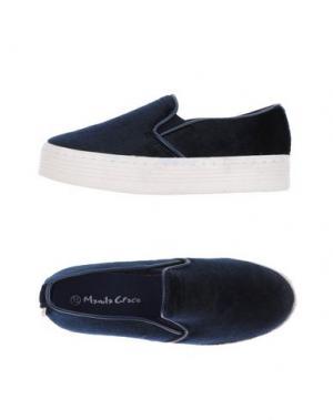 Низкие кеды и кроссовки MANILA GRACE. Цвет: темно-синий