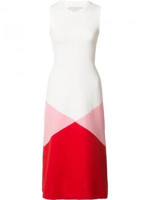 Платье Taconic Novis. Цвет: белый