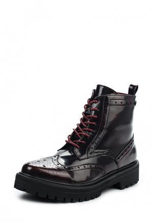 Ботинки Carmela. Цвет: бордовый
