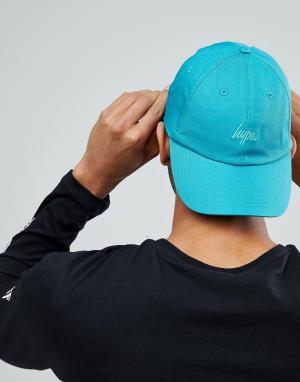 Hype Сине-зеленая кепка. Цвет: зеленый