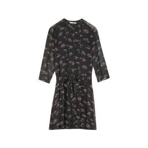 Платье с рисунком MICHIKI SESSUN. Цвет: черный