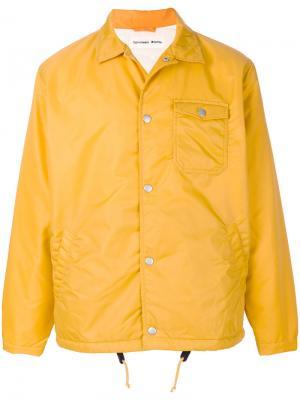 Куртка Coach Universal Works. Цвет: жёлтый и оранжевый