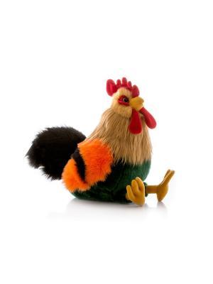 Игрушка мягкая Петушок пёстрый 30 см AURORA. Цвет: светло-коричневый, зеленый, бронзовый