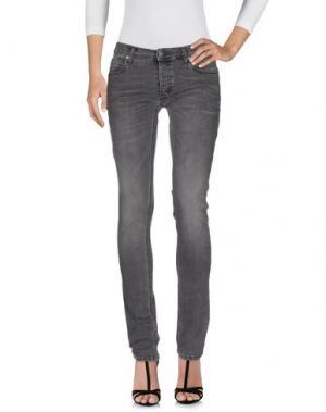 Джинсовые брюки MARCELO BURLON. Цвет: серый