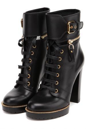 Ботинки Sergio Rossi. Цвет: черный