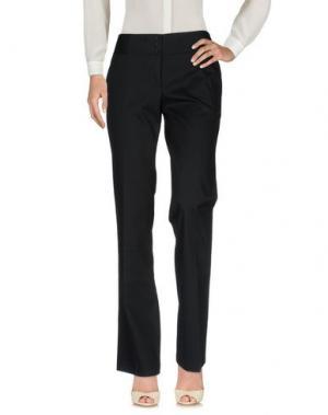 Повседневные брюки LIST. Цвет: черный