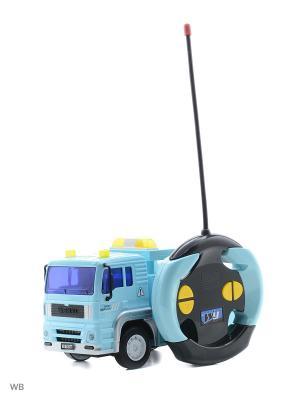 Машина р/у грузовик-эвакуатор Drift. Цвет: голубой
