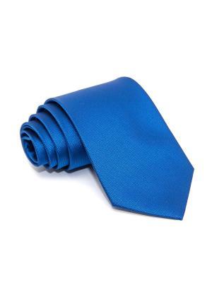 Галстук Churchill accessories. Цвет: синий, лазурный, морская волна, бирюзовый, серо-голубой, голубой