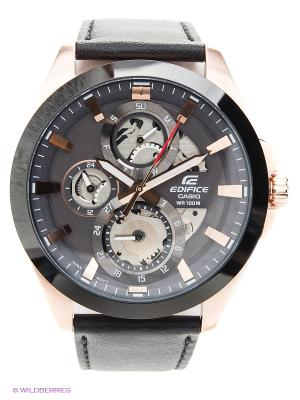 Часы EDIFICE ESK-300GL-1A CASIO. Цвет: черный