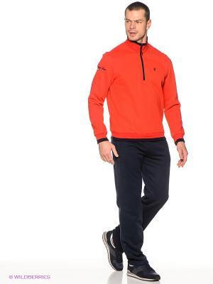 Спортивный костюм RED-N-ROCK'S. Цвет: красный, темно-синий