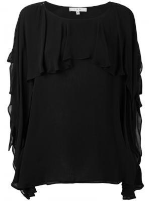 Блузка Graham Iro. Цвет: чёрный