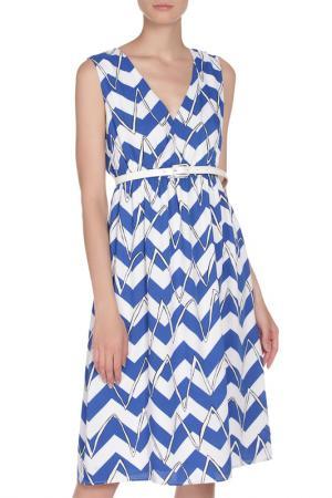 Платье Anonyme. Цвет: двухцветный