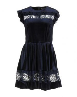 Короткое платье DIXIE. Цвет: синий