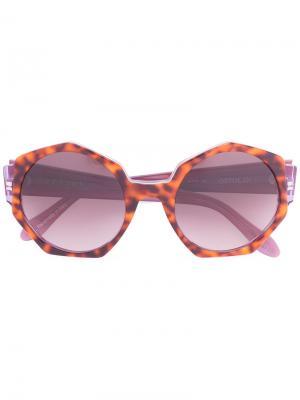 Солнцезащитные очки Ortolan Zanzan. Цвет: коричневый