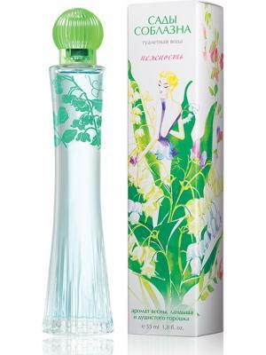Туалетная вода Сады Соблазна Нежность women EDT 55ml Brocard Parfums. Цвет: зеленый
