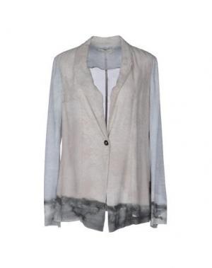 Пиджак ALYSI. Цвет: голубиный серый