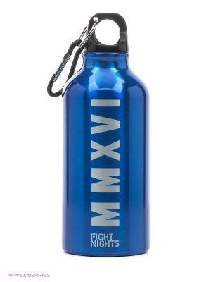 Бутылка для воды Fight Nights. Цвет: синий