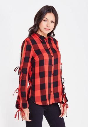 Рубашка Jennyfer. Цвет: красный