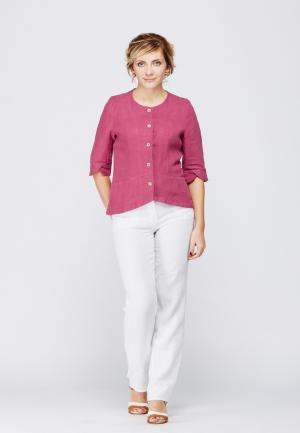 Рубашка Kayros. Цвет: розовый