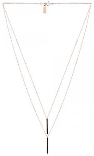 Ожерелье uptown Natalie B Jewelry. Цвет: металлический серебряный