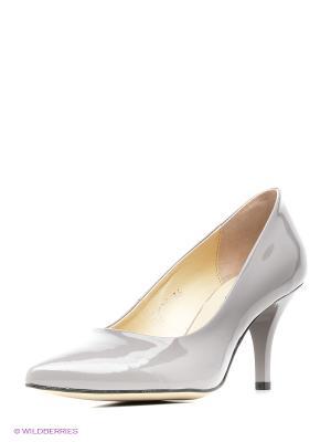 Туфли Goergo. Цвет: серый