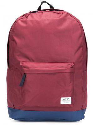 Рюкзак Chaz Wesc. Цвет: красный