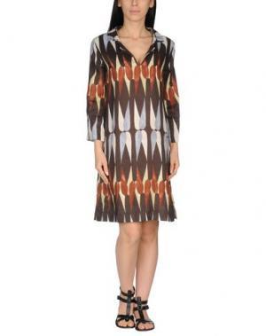 Пляжное платье SIYU. Цвет: какао