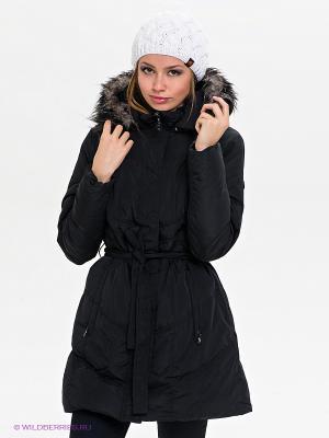 Пальто IGUANA. Цвет: черный