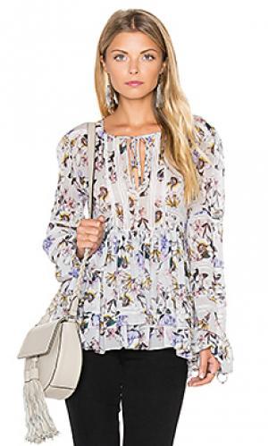 Блузка bella Marissa Webb. Цвет: серый