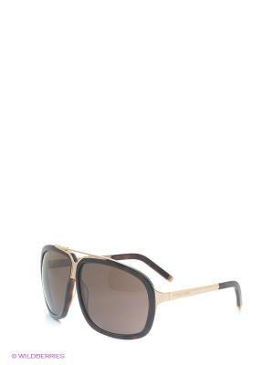 Солнцезащитные очки DQ 0030 52E Dsquared. Цвет: коричневый