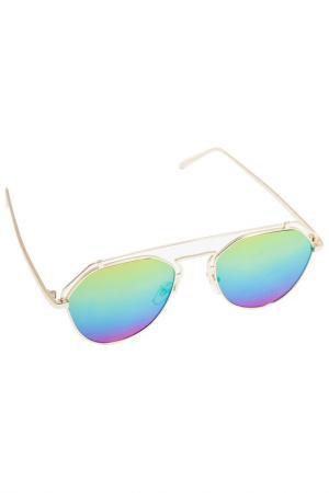 Солнцезащитные очки Kameo Bis. Цвет: золотой, желтый, оранжевый