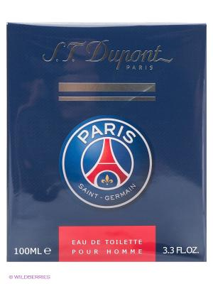 Туалетная вода Paris Saint-Germain, 100 мл DUPONT. Цвет: синий