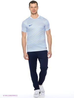 Брюки REV KNT TRACK PNT Nike. Цвет: синий, белый