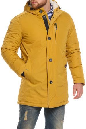 Куртка NORTHBLOOM. Цвет: охра