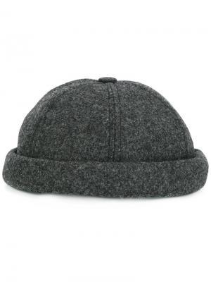 Шляпа Miki Beton Cire. Цвет: серый