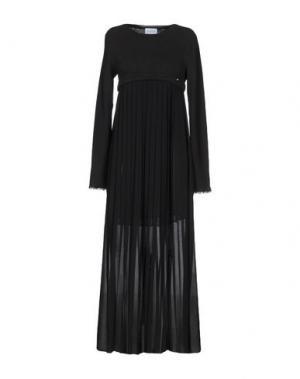 Длинное платье LA KORE. Цвет: черный