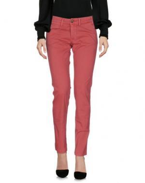 Повседневные брюки BLAUER. Цвет: кирпично-красный