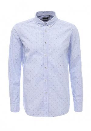 Рубашка Liu Jo Uomo. Цвет: голубой