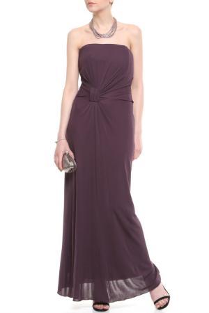 Платье BGN. Цвет: royal wine, винный