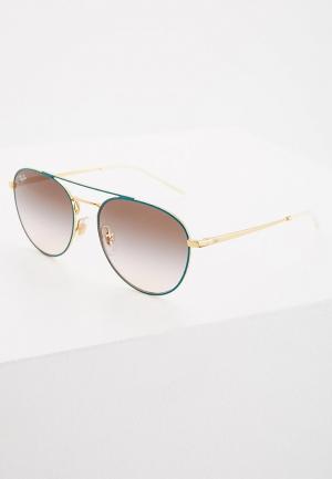 Очки солнцезащитные Ray-Ban®. Цвет: бирюзовый