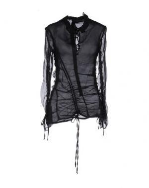 Блузка GERMANO ZAMA. Цвет: черный